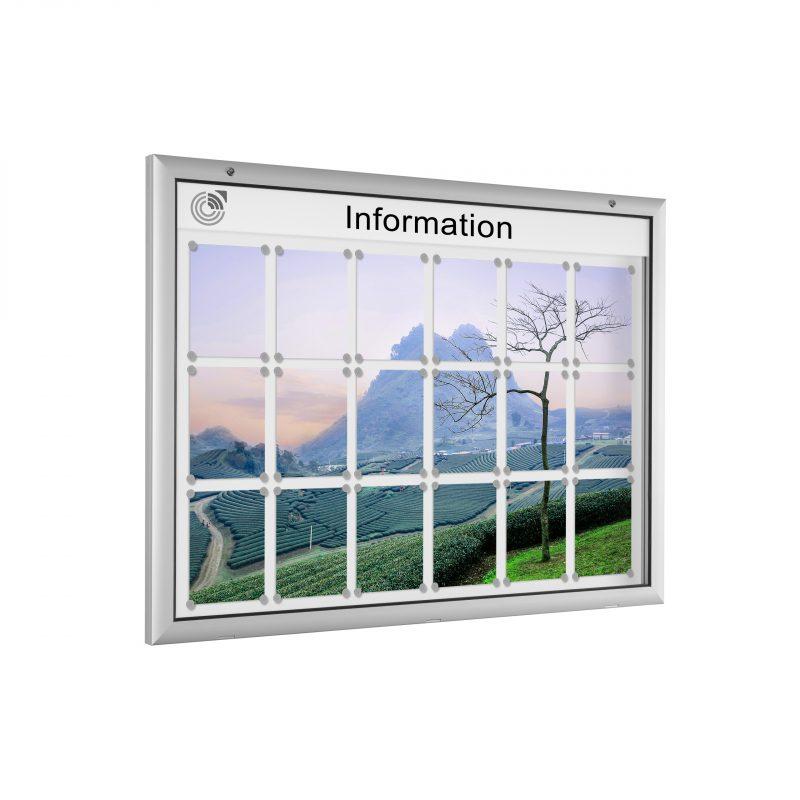 Schaukasten Typ 1000 | 1003-QW | Weiß
