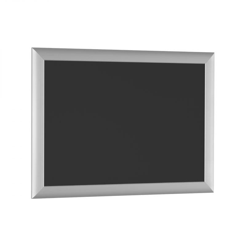 Aushangtafel Serie PUBLIC | schwarze Rückwand