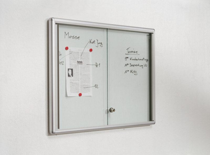 Brandschutzschaukasten für den Innenbereich | mit Schiebe- oder Drehtüren | Serie Media